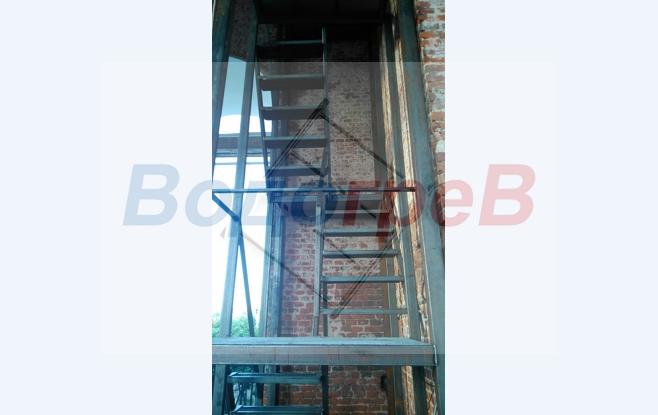 Металлические лестницы в Калуге.